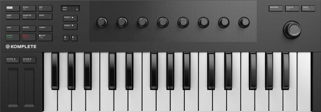 Native Instruments Komplete Kontrol M32 review